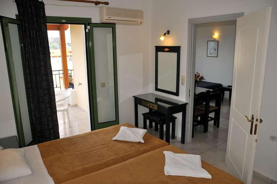 Appartement van Sylvia Appartementen in Chersonissos, Kreta, Griekenland