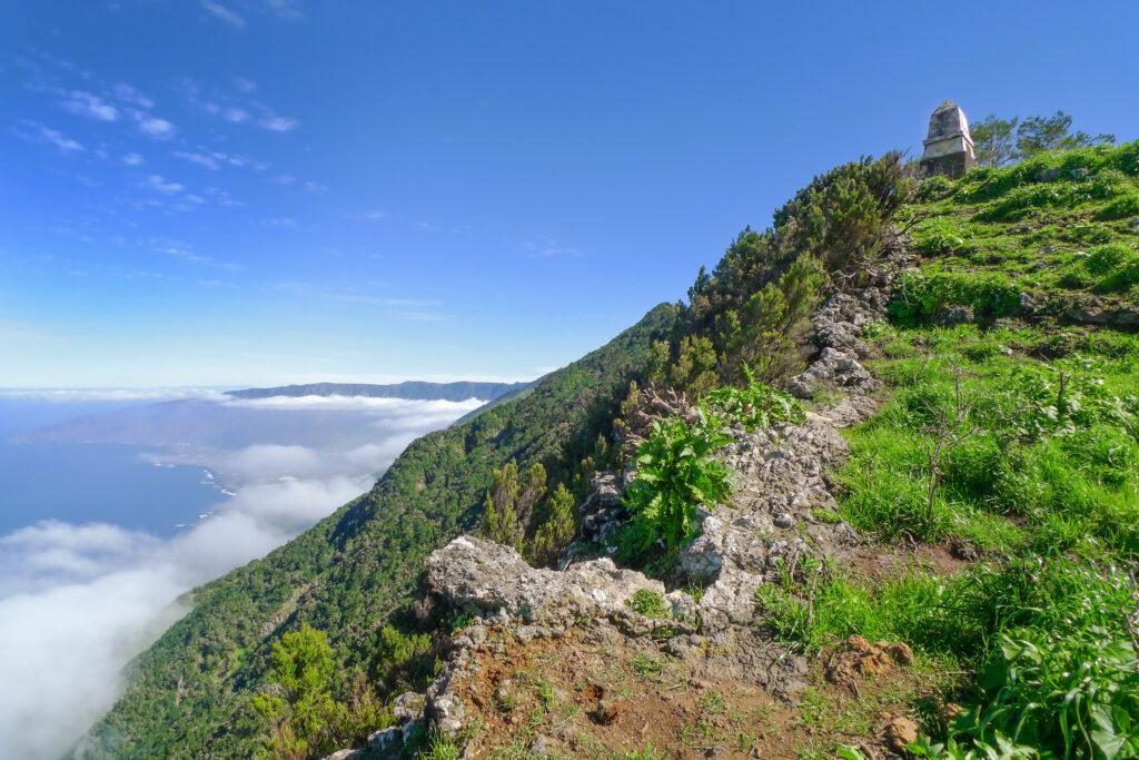 Uitzicht over El Hierro op de Canarische Eilanden, Spanje