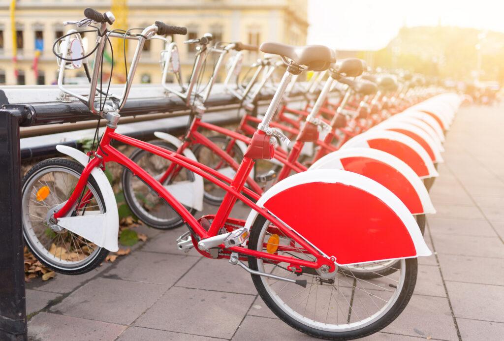 Rode fietsen, Spanje