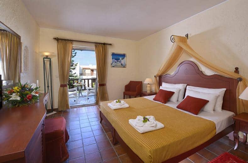 Hotelkamer van Alexander Beach in Stalis op Kreta, Griekenland