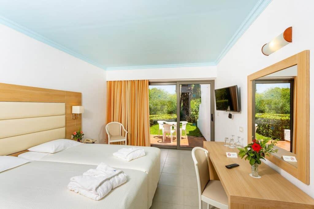 Hotelkamer van Blue Horizon in Trianda (Ialyssos), Rhodos, Griekenland