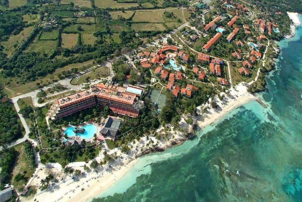 Ligging van Brisas Guardalavaca in Guardalavaca, Holguín, Cuba
