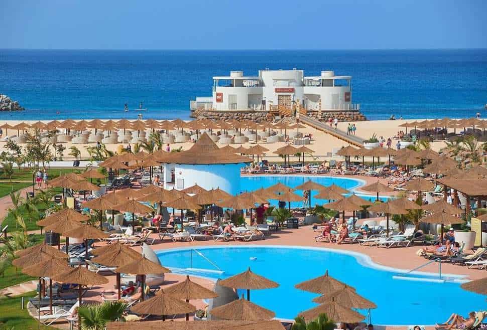 Ligging van TUI Sensimar Cabo Verde Resort & Spa in Santa Maria, Sal, Kaapverdië
