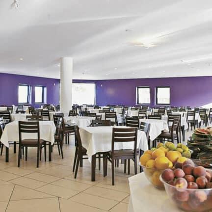Restaurant van Golden Club Cabanas in Cabanas, Algarve, Portugal