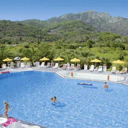 Zwembad van Venus in Kokkari, Samos, Griekenland