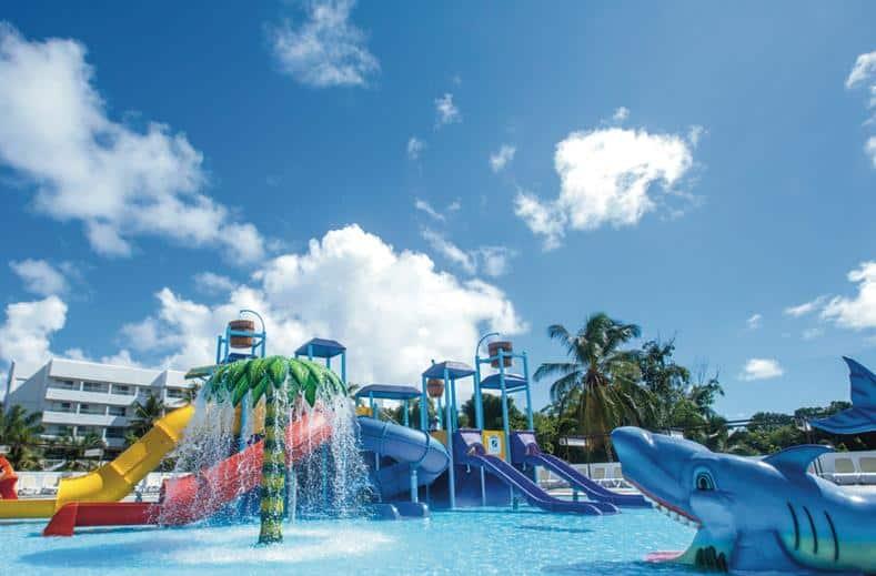 Kinderbad van RIU Palace Bavaro in Punta Cana, Dominicaanse Republiek