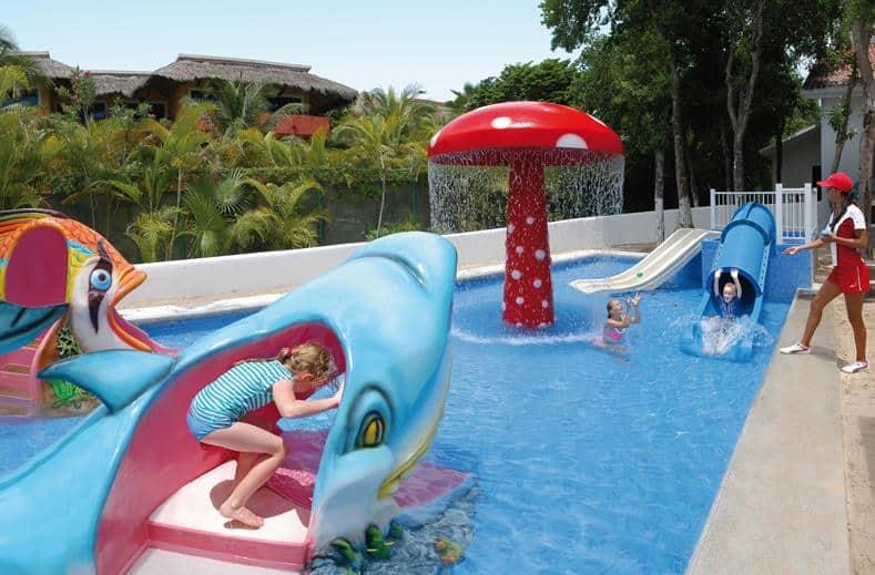 Kinderbad van RIU Yucatan in Playa del Carmen, Mexico