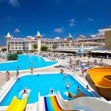 Side Star Resort in Side, Turkse Rivièra, Turkije