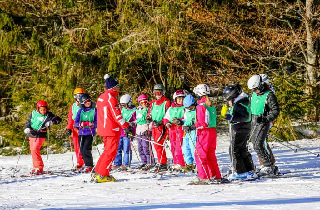 skiles op wintersport
