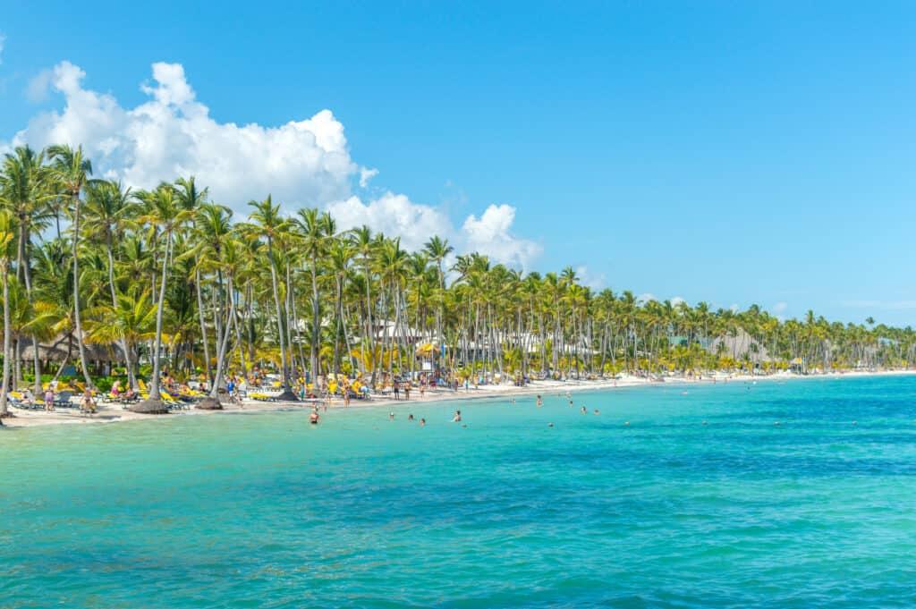 Strand van de Dominicaanse Republiek