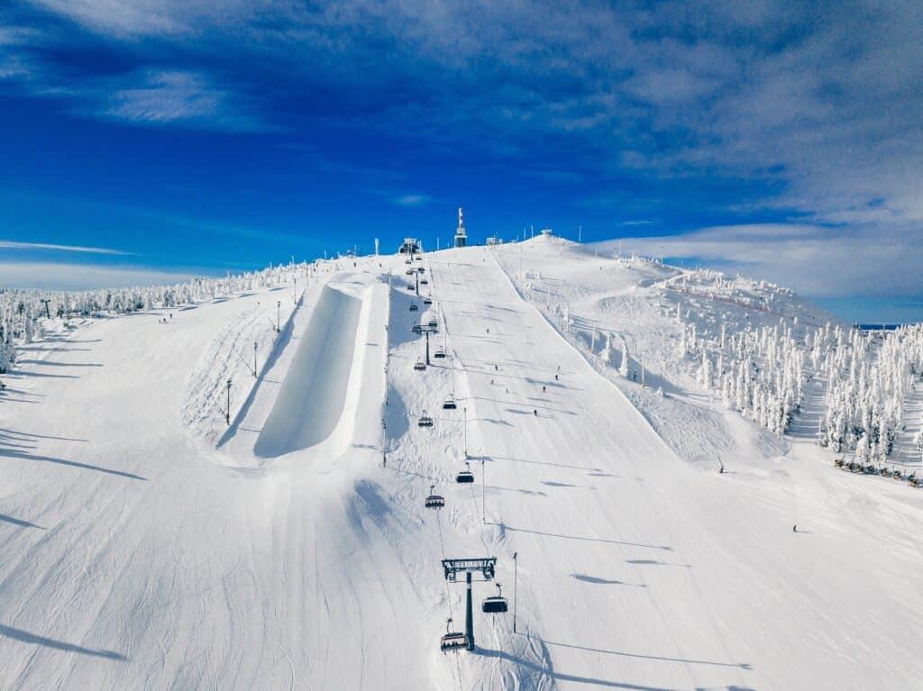 Wintersport in Fins Lapland