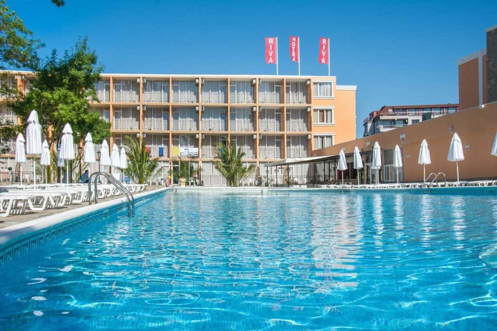 Zwembad Riva Park Hotel in Sunny Beach, Bulgarije