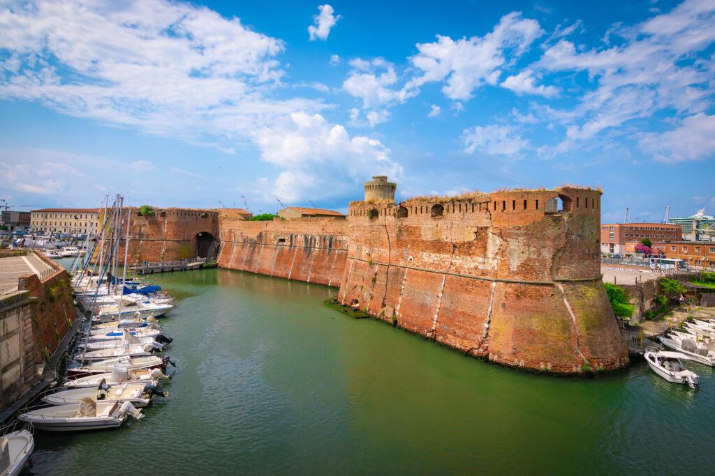 Oude vesting Fortezza Vecchia in Livorno