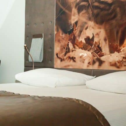 Hotelkamer van Hotel De Hoeve van Nunspeet in Nunspeet, Gelderland