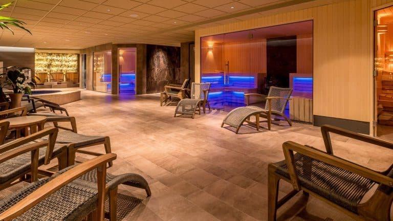 Sauna's van Hotel Zuiderduin in Egmond aan Zee, Noord-Holland