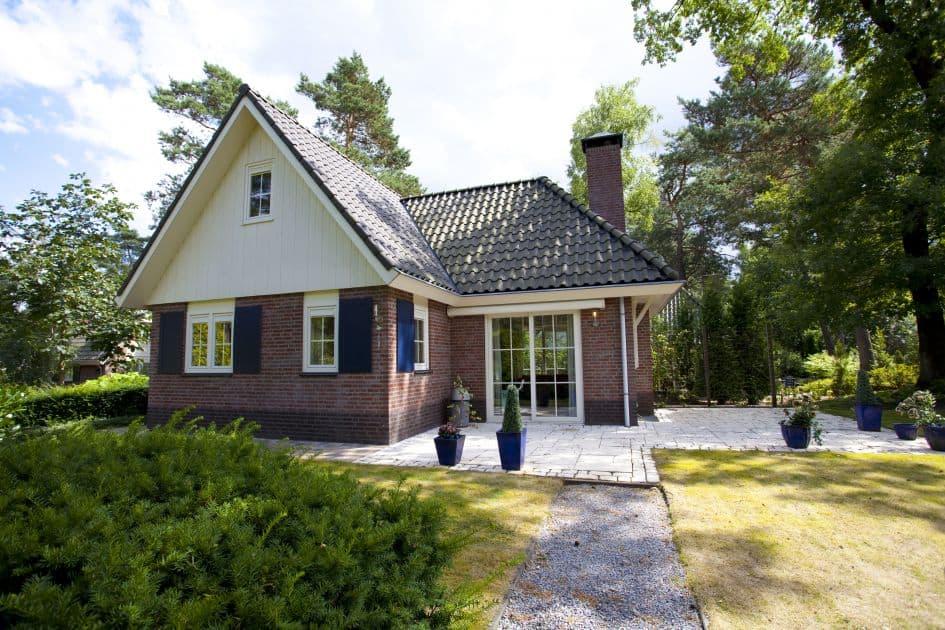 Villa van Droompark Beekbergen in Beekbergen, Gelderland, Nederland