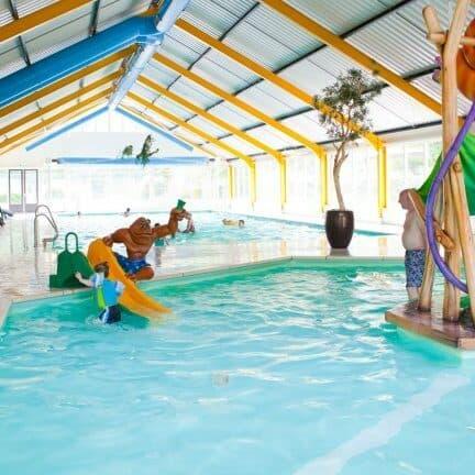 Zwembad van Droompark Beekbergen in Beekbergen, Gelderland, Nederland