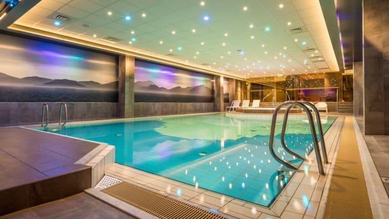Zwembad van Hotel Zuiderduin in Egmond aan Zee, Noord-Holland