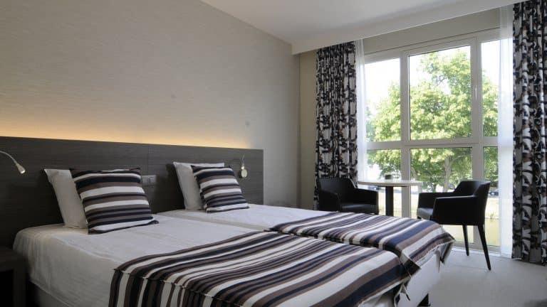 Hotelkamer van Europahotel Gent