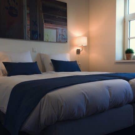 Hotelkamer van Hotel de Kastanjefabriek in Eibergen, Gelderland