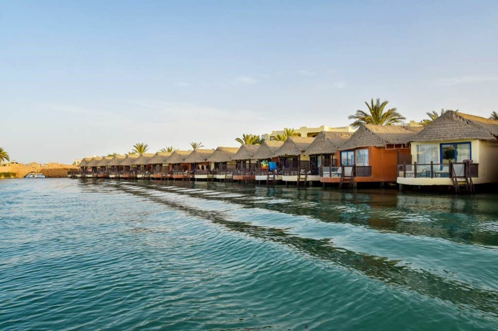 Ligging van Panorama Bungalows El Gouna in Egypte