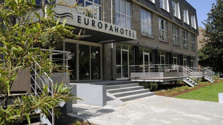 Voorzijde van Europahotel Gent in Gent, België