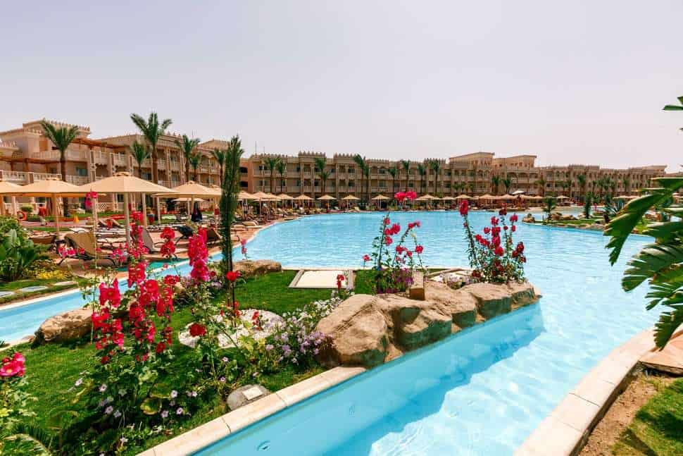 Albatros Palace Resort in Hurghada, Egypte