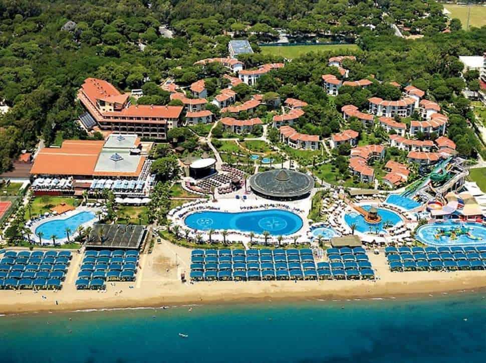 Ligging van Paloma Grida Resort & Spa