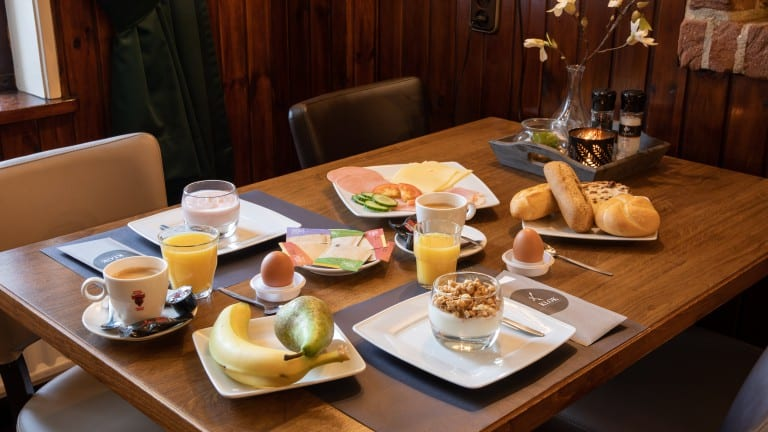 Ontbijt van hotel De Klok