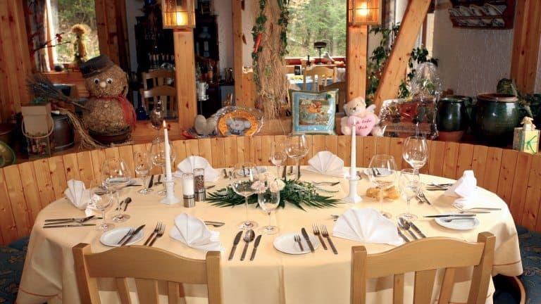 Restaurant van het Wolffhotel