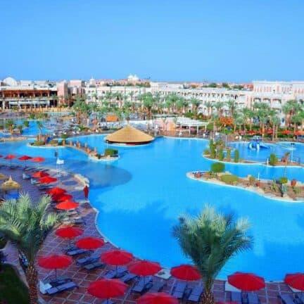 Zwembad van Albatros Palace Resort