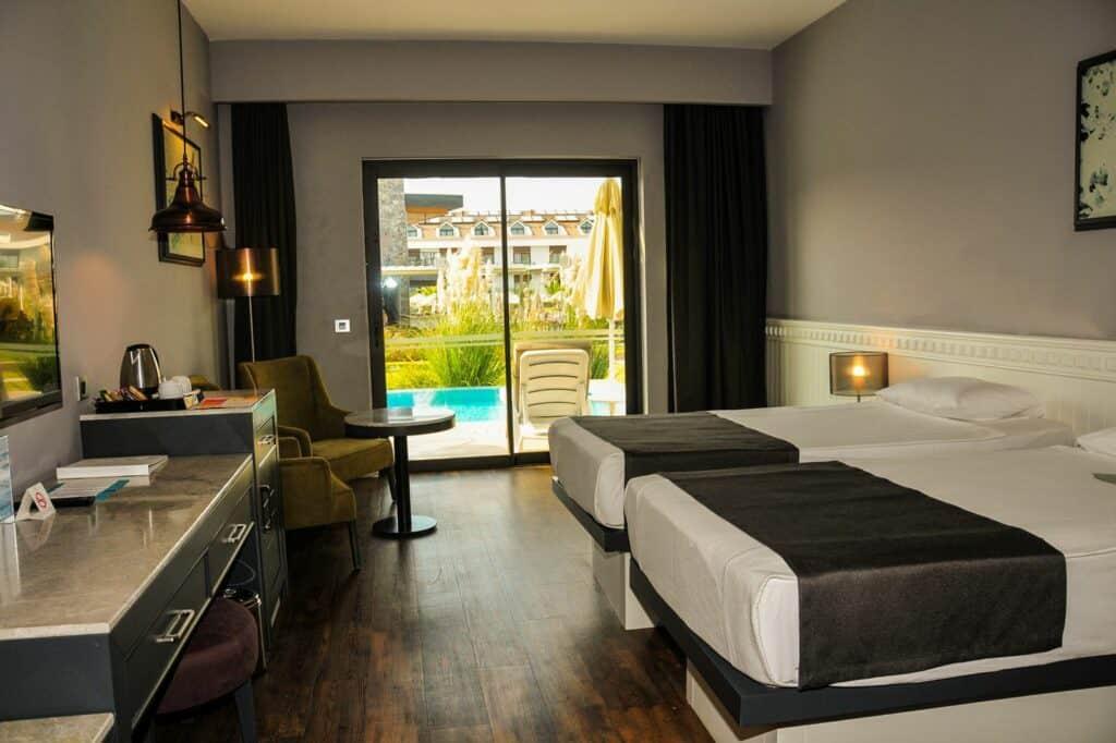 Hotelkamer van Jiva Beach Resort