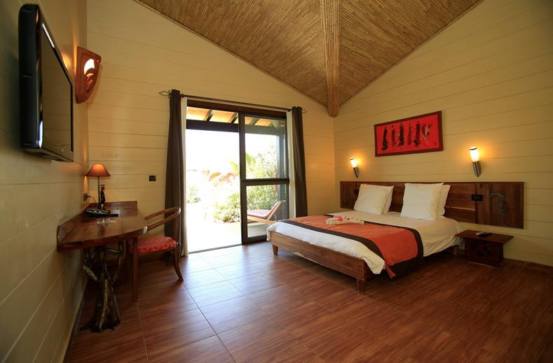 Interieur hotelkamer van Royal Horizon Baobab