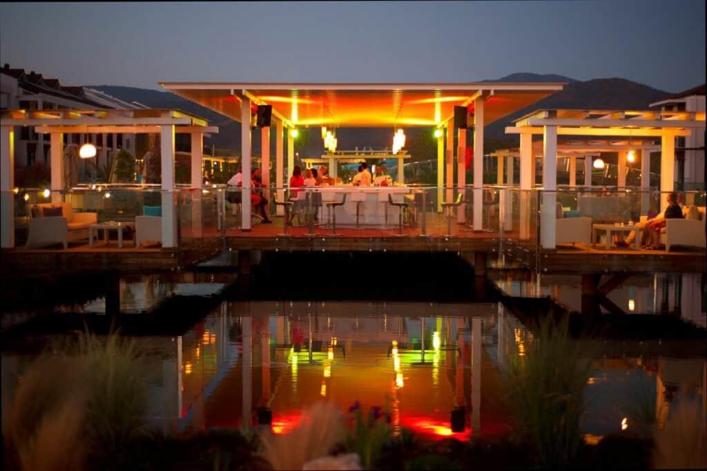 Restaurant van Jiva Beach Resort
