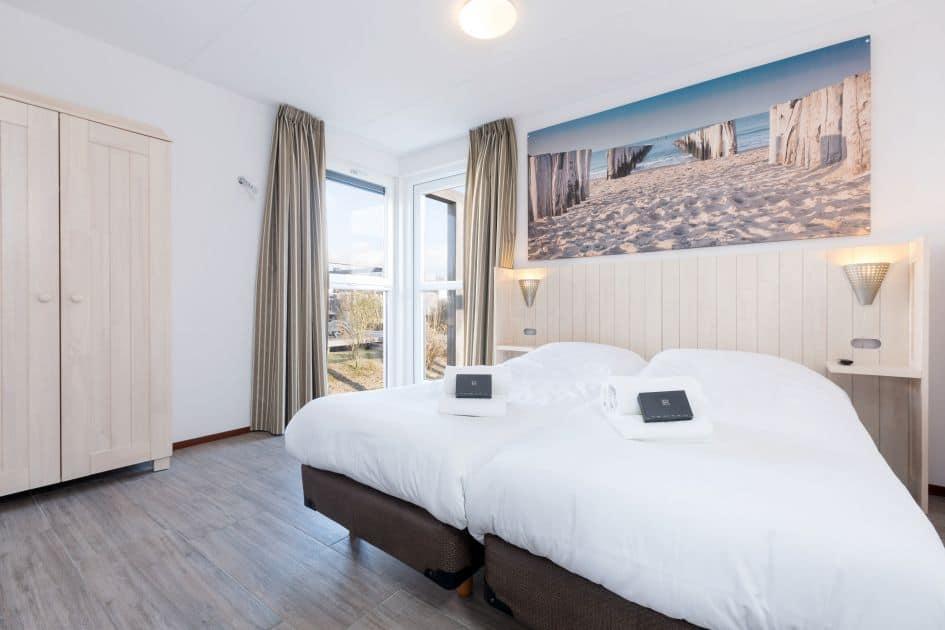 Slaapkamer van duinvilla