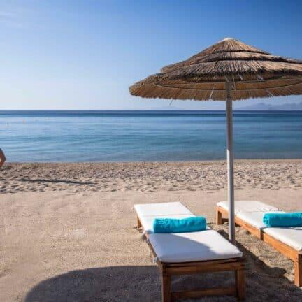 Strand bij Mitsis Blue Domes Resort & Spa
