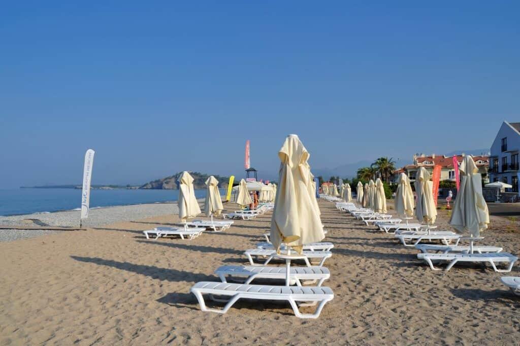 Strand van Jiva Beach Resort