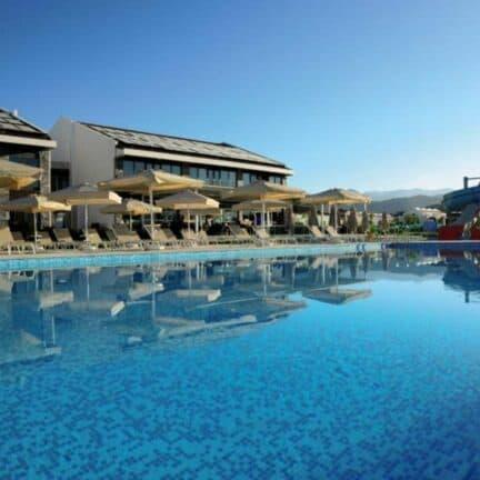 Zwembad van Jiva Beach Resort