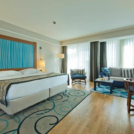 Hotelkamer van Xanadu Island
