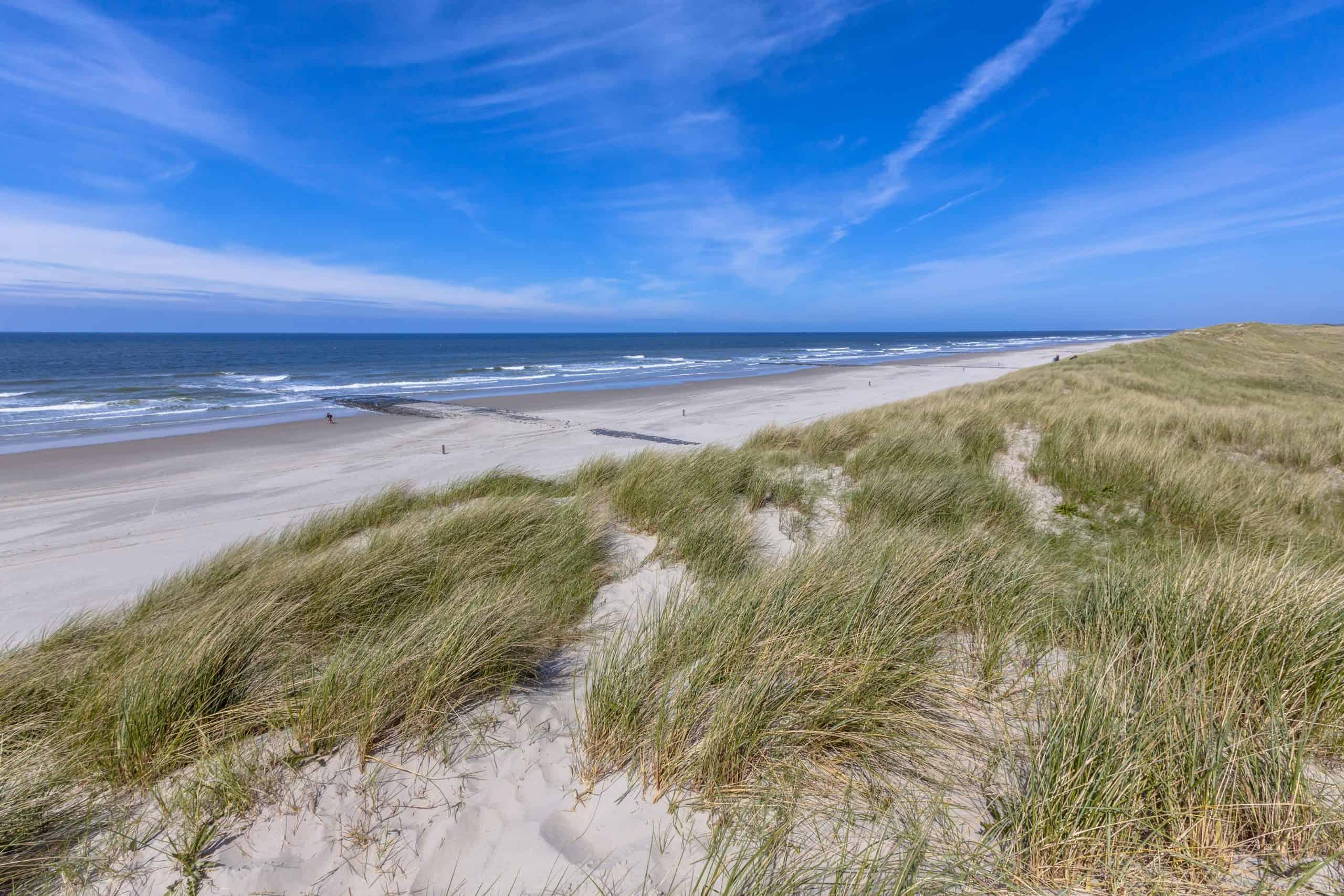 Strand en duinen van Vlieland
