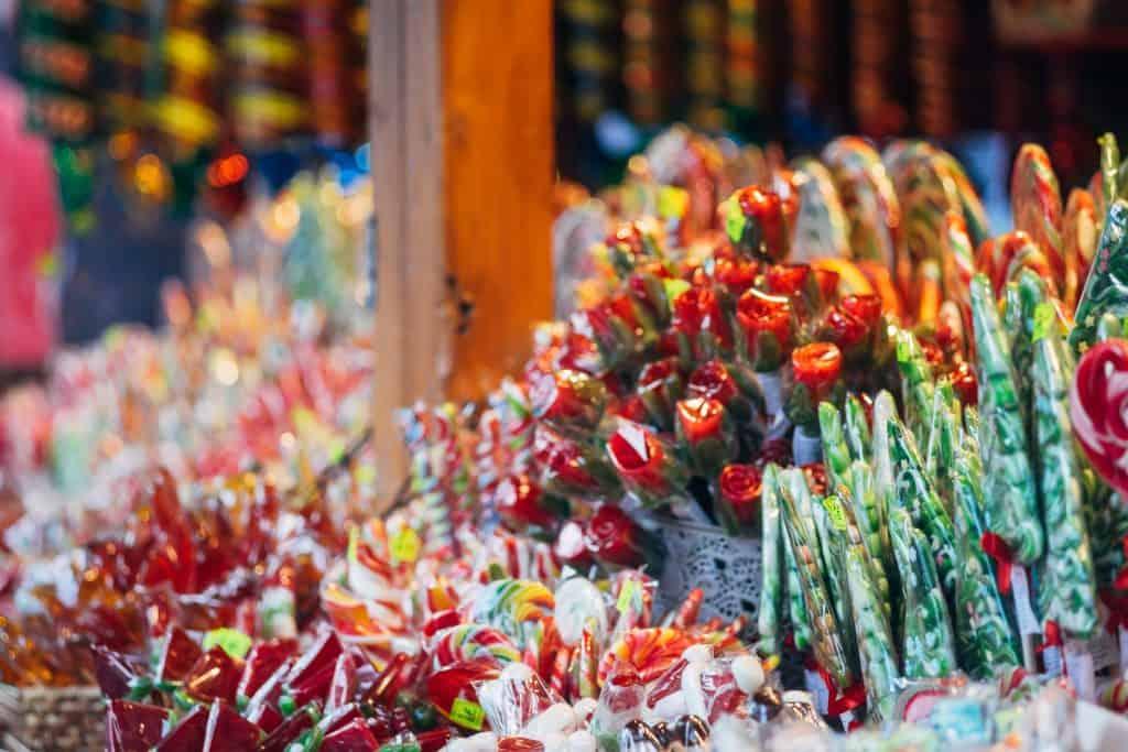 Kerstmarkt in Kopenhagen