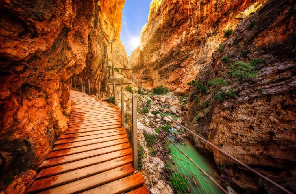 Caminito del Rey, wandelen in Andalusië, Spanje