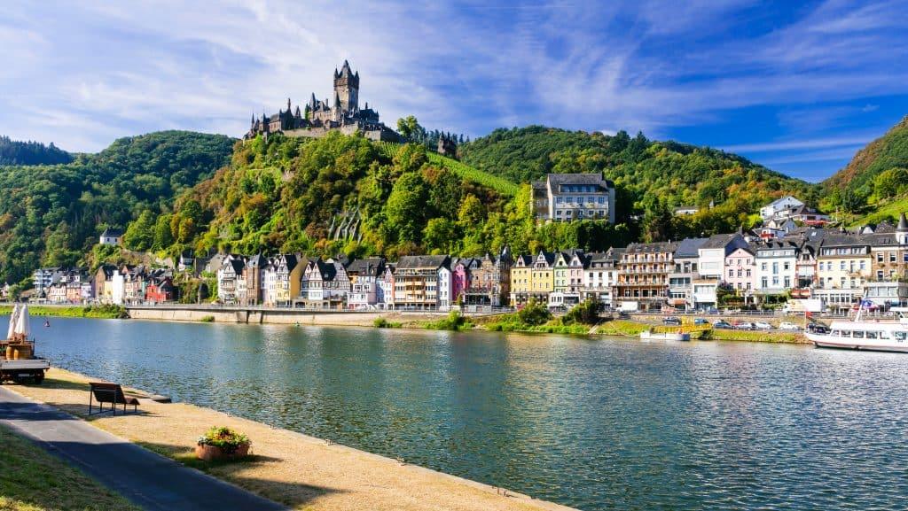 Cochem in Rheinland-Pfalz, Duitsland