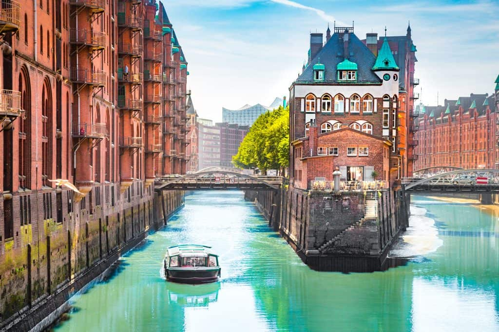 Hamburg in Duitsland