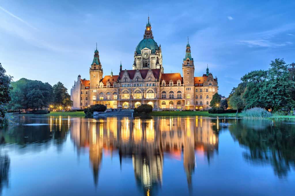 Hannover in Nedersaksen, Duitsland