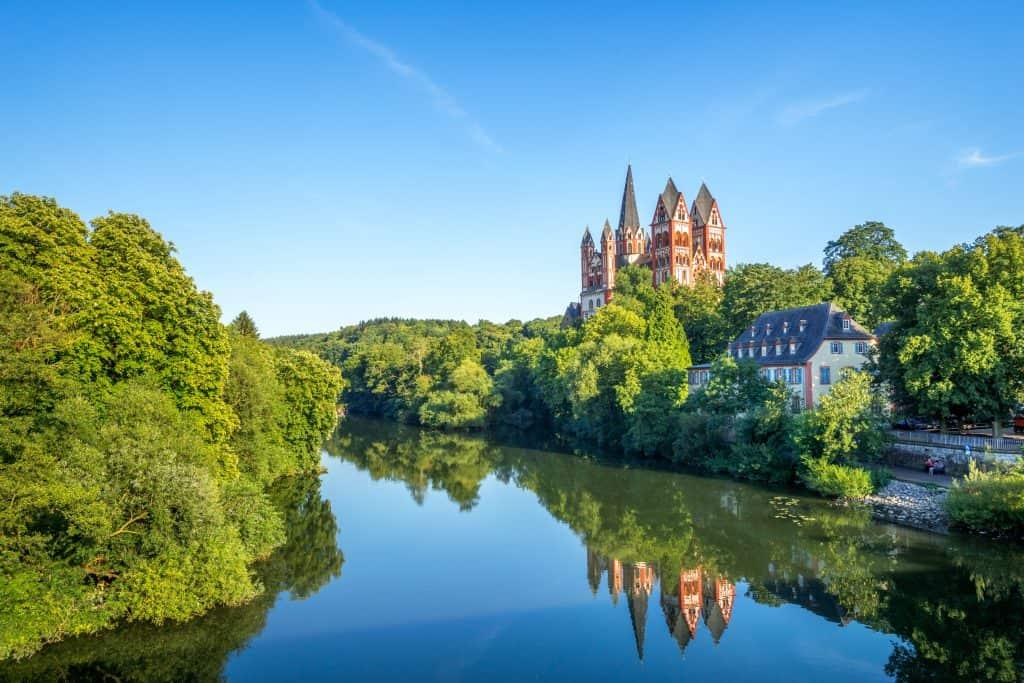 Limburg an der Lahn in Hessen, Duitsland
