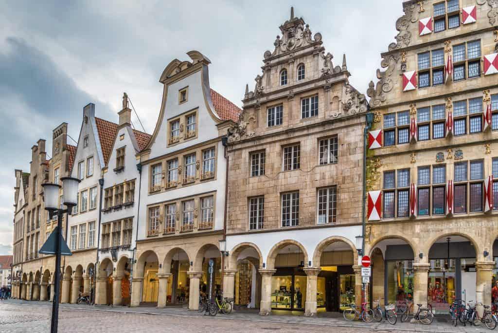 Prinzipalmarkt in Munster, Duitsland