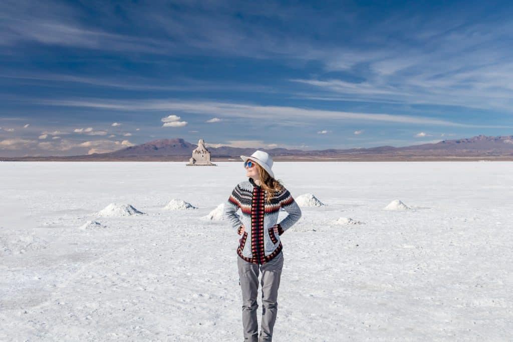 Toerist in Bolivia