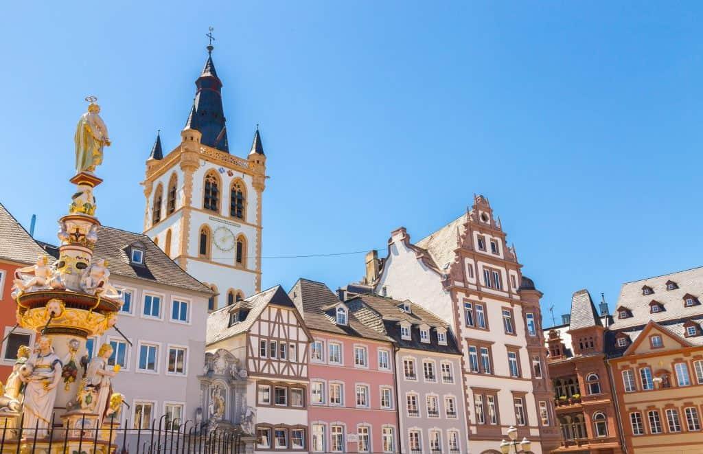 Historisch centrum van Trier in Duitsland