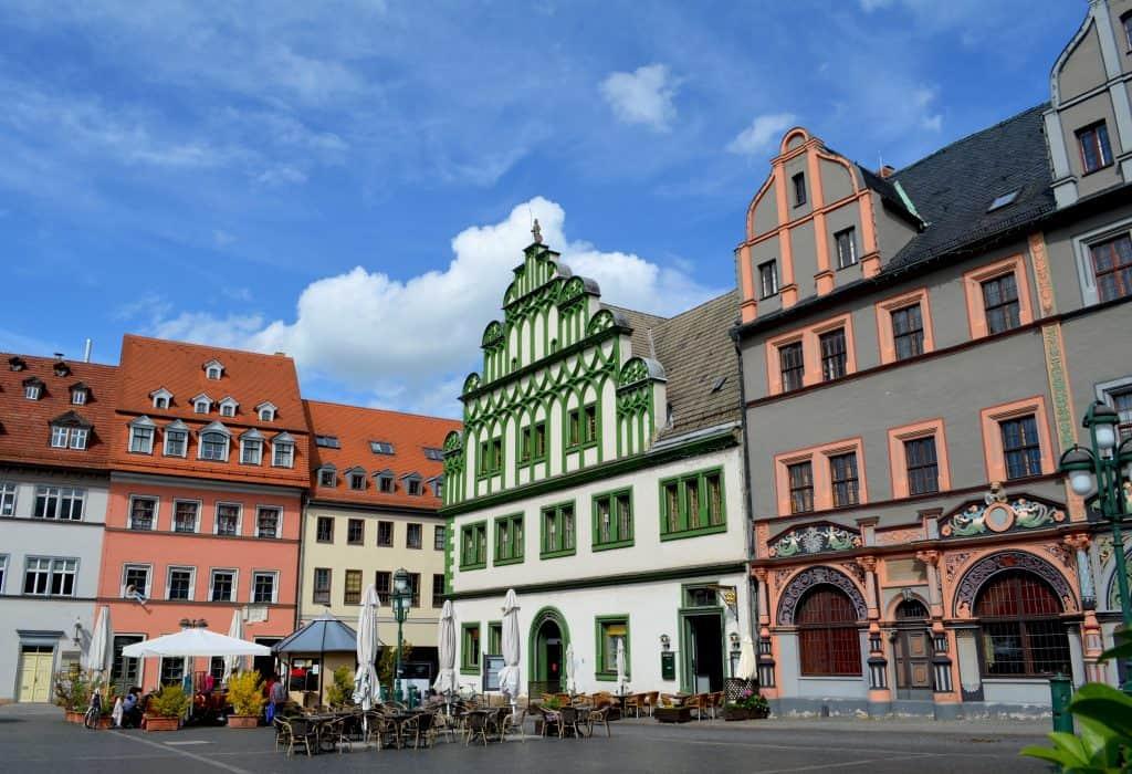 Weimar in Thuringen, Duitsland